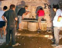 PATTI – A Sorrentini conto alla rovescia per la riqualificazione della piazza e della fontana Denti