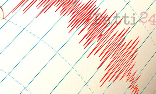 PATTI – Terremoto, scossa alle Isole Eolie, davanti al Golfo di Patti