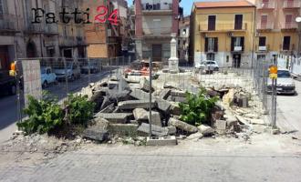 PATTI – Piazza San Nicola, allo studio la nuova viabilità