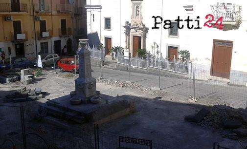 PATTI – Riqualificazione di piazza San Nicola, si riaccende il dibattito