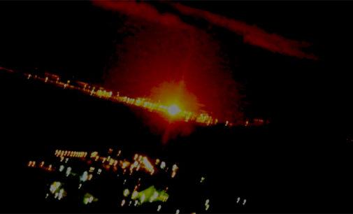 MILAZZO – Scoppia incendio agli impianti della raffineria di Milazzo, fiamme visibili da tutta la costa del messinese, panico tra la gente