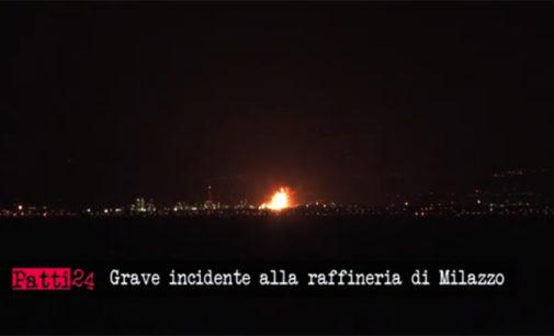 MILAZZO – Aggiornamento incendio Raffineria, Chiesto intervento Arpa e disposta chiusura scuole