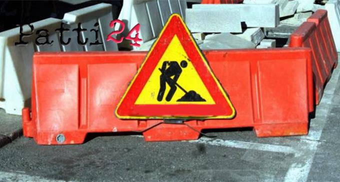 PATTI – Lavori di pavimentazione stradale in Piazza Niosi e nelle vie adiacenti. Regolamentata viabilità sabato 18 e domenica 19 marzo