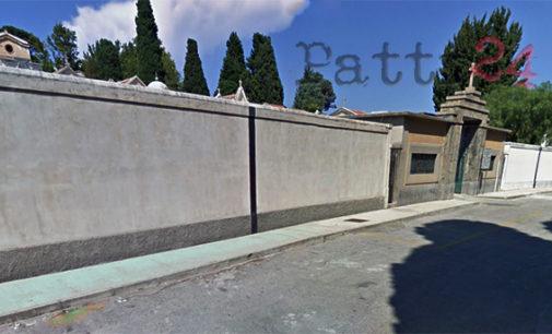 PATTI – Cimitero del centro. Sotto del piazzale dell'ingresso principale individuata area per realizzare nuovi loculi
