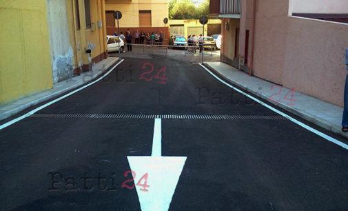 PATTI – Via di fuga in via Alcide De Gasperi, regolamentata la viabilità