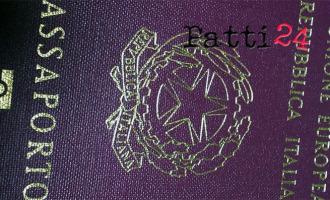 MESSINA – Consegna a domicilio del passaporto