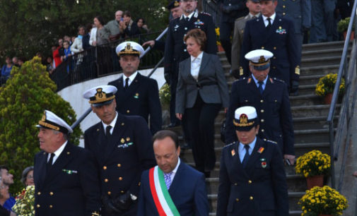 MILAZZO – Deposte tre corone in ricordo di Luigi Rizzo, dei Caduti e di Giuseppe Tusa