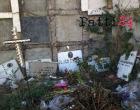 PATTI – Cimitero, odori nauseabondi e lapidi abbandonate tra gli sfalci. L'indignazione trova sfogo sui social