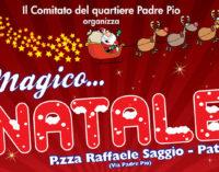 """PATTI – """"Magico….Natale"""" 2014 nel quartiere di via Padre Pio con tre appuntamenti di sicuro richiamo"""