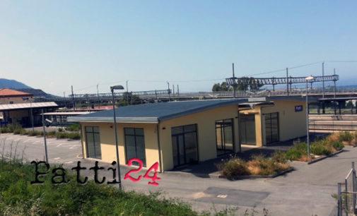 PATTI – Locali della stazione ferroviaria da adibire a uffici comunali. A breve la consegna