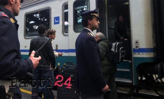MESSINA – Più controlli della Polizia Ferroviaria agli imbarcaderi e a bordo dei treni