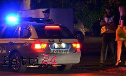 MESSINA – Servizi straordinari di controllo del territorio della Polizia finalizzati al contrasto al fenomeno della prostituzione