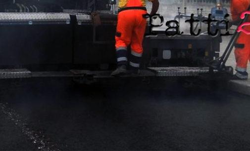 PATTI – Lavori di bitumatura e all'impianto della pubblica illuminazione