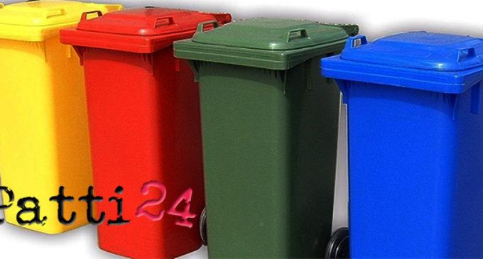 """GIOIOSA MAREA – Modifiche al servizio dei rifiuti; sospensione della """"indifferenziata"""" anche a Sant'Angelo di Brolo"""