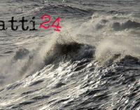 TIRRENICA – In arrivo temporali, burrasche e mareggiate. Allerta in provincia di Messina