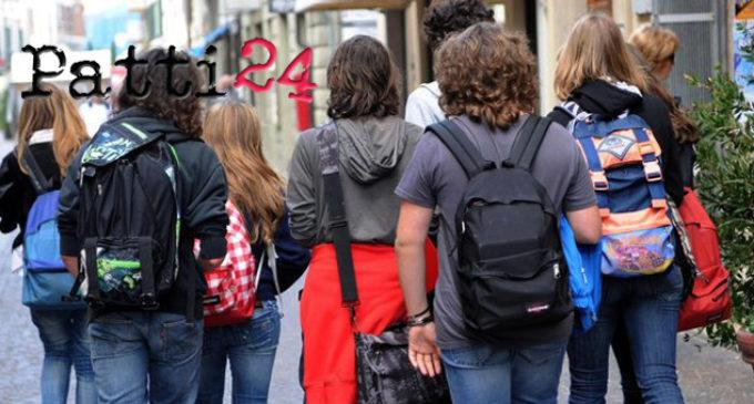 """PATTI – Il 17 novembre si celebrerà la """"Giornata dello studente"""""""