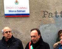 """MILAZZO – Intitolato il campo di calcio a Marco Salmeri; petizione con diecimila firme """"a favore"""" del giovane calciatore scomparso tragicamente in un incidente stradale"""