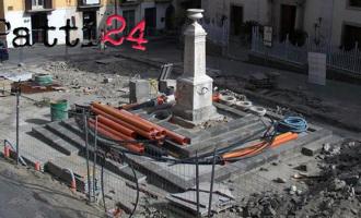 PATTI – San Nicola, lavori ancora fermi. In arrivo sgravi fiscali per i commercianti