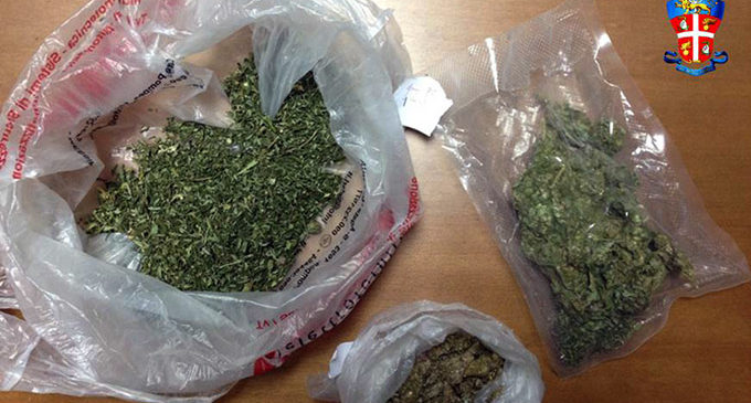 SAVOCA – Blitz dei carabinieri, piombano in casa e trovano droga