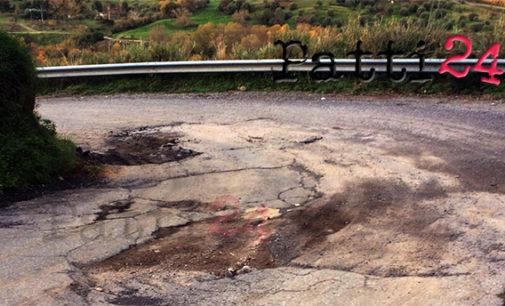 PATTI – Nonostante i lavori di bitumazione la provinciale 120 torna impraticabile (di Giuseppe Giarrizzo)