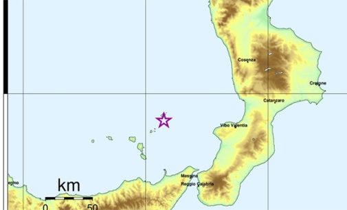 ISOLE EOLIE – Forte Scossa di Magnitudo Richter 4.7 alle Isole Eolie alle 09:52:25