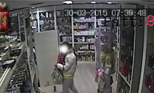 BARCELLONA P.G. – La Polizia di Stato denuncia tre ladre in trasferta. Dovranno rispondere di furto aggravato di profumi