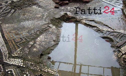 PATTI – Villa Romana, addio mosaici
