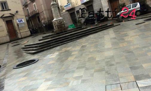 PATTI – Razionalizzato l'accesso nelle piazze Sturzo e Niosi e lungo le vie Verdi, Roma e Monastra.