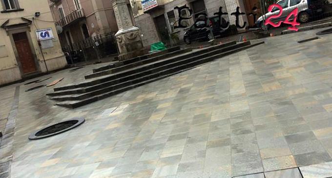 PATTI – Ripartono i lavori a San Nicola, rinviato di due mesi il taglio del nastro