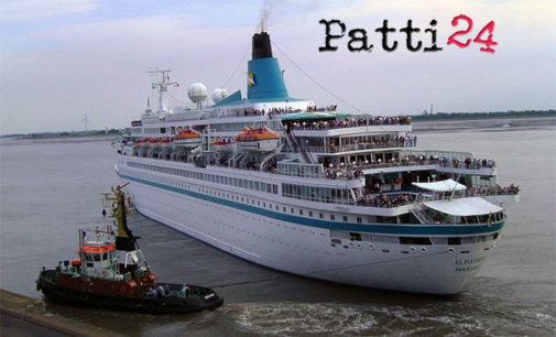 """MILAZZO – Domenica nel porto arriva la nave da crociera """"Albatros"""" con  800 passeggeri"""