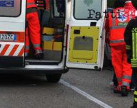 ROCCA DI CAPRILEONE – Incidente stradale , quattro auto coinvolte, tre donne con ferite non gravi