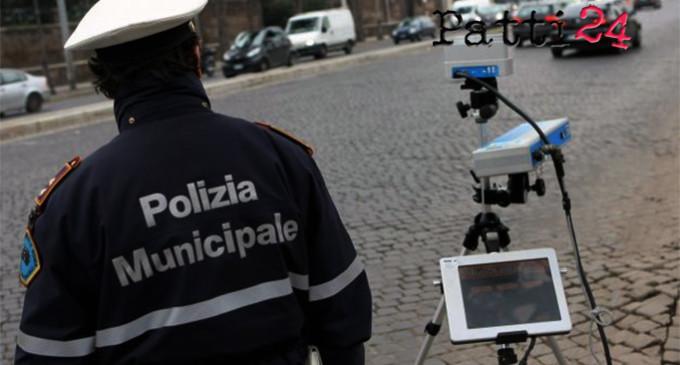 """MESSINA – Da Oggi a sabato 11 maggio servizi di controllo della velocità con autovelox e rilevamento con il dispositivo """"scout"""" delle infrazioni ai divieti di sosta"""