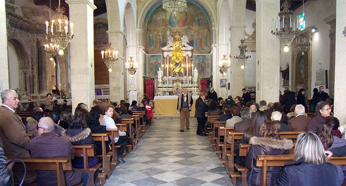 GIAMPILIERI – Al via il restauro nella chiesa di San Nicola