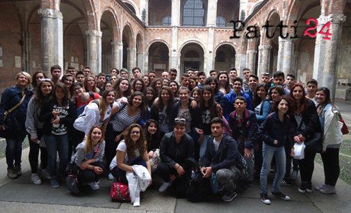 PATTI – Gli alunni del Borghese Faranda in visita a EXPO Milano 2015