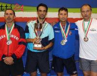 MESSINA – Marcello Arcigli, impiegato civile della Marina Militare, campione italiano interforze di Tennistavolo