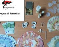 TAORMINA – Arrestato titolare di un bar per detenzione ai fini di spaccio