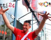 GIOIOSA MAREA – Lucky Lucchetta a Gioiosa Marea per le Kinderiadi 2015