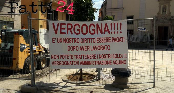 PATTI – Lavori di nuovo fermi a San Nicola. È braccio di ferro tra ditta e amministrazione comunale