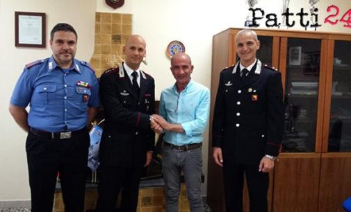 MILAZZO – Il neo sindaco Formica inizia gli incontri istituzionali alla locale Compagnia dei Carabinieri
