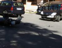 PATTI – Violento impatto tra auto e moto: ennesimo incidente in via Trieste