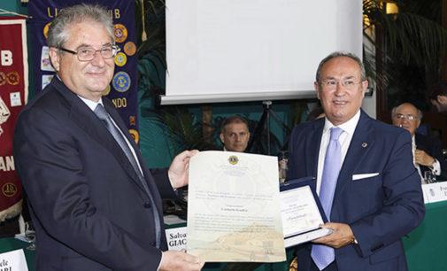 CAPO D'ORLANDO – Maurizio Rifici nuovo presidente Lions, riconoscimenti a Giuffrè di Irritec