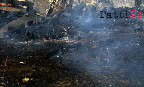 BROLO – Denunciato per rogo di ferri vecchi e materiale di risulta