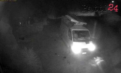 """CAPO D'ORLANDO – """"Attentato ambientale"""" in zona Faro, telecamere inchiodano tre incivili"""