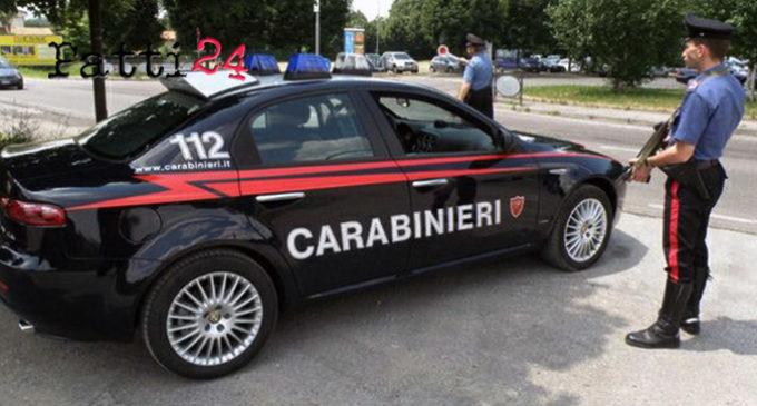 MESSINA – Controlli dei Carabinieri sulla Strada Statale 114,  4 persone denunciate per vari reati e 4 segnalate alla prefettura per stupefacenti
