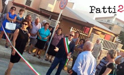 PATTI – Inaugurato nuovo parcheggio sul lungomare di Mongiove
