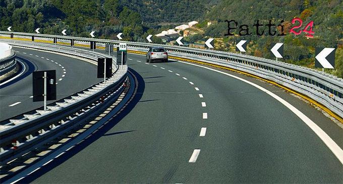 MESSINA – A20, il 4-5 luglio chiuso al traffico lo svincolo di S. Filippo
