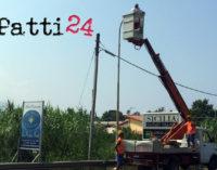 PATTI – In città 140 nuovi corpi illuminanti a Led