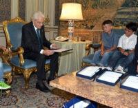 ROMA – La famiglia di Anna Rita Sidoti a colloquio col presidente  Mattarella, ecco le foto dell'evento