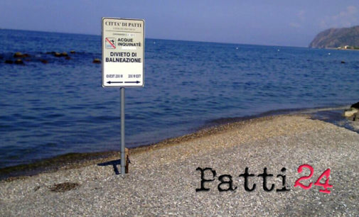 PATTI – Divieto di balneazione per liquami fognari, lunedì si interviene sulla condotta di via Sant'Eramo