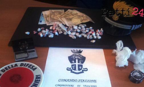VULCANO – Arrestato 19enne di Milazzo, riforniva di stupefacente i giovani pusher della zona